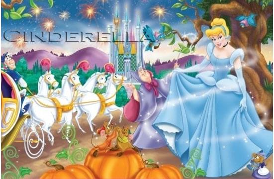 Cerita Dongeng Cinderella dan Sepatu Kaca Hias